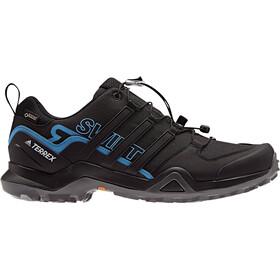 adidas TERREX Swift R2 Gore-Tex Hiking Shoes Waterproof Men, core black/core black/bright blue
